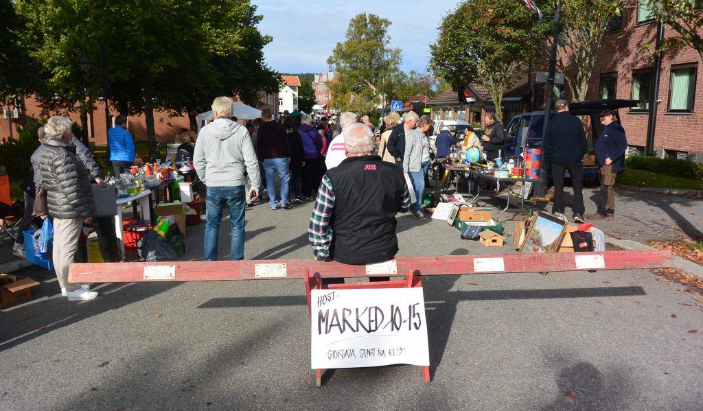 Høstmarked i Ørje