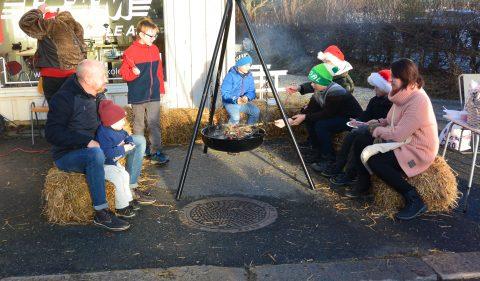 Julegateåpning