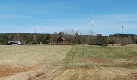 Vindkraftverk i Marker