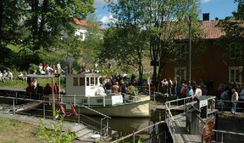 Slusefestivalen arrangeres på Ørje Brug