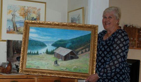 Einar Sandmo – en produktiv maler