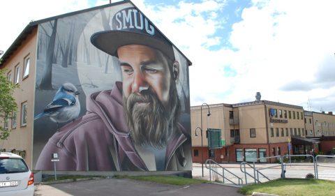 Gatekunst i Årjäng