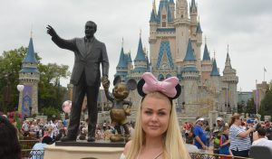 Hanne i Disney World