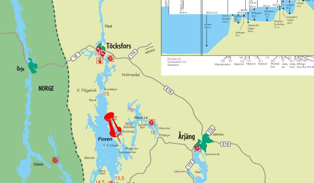 Gå inn på Dalslands Kanal
