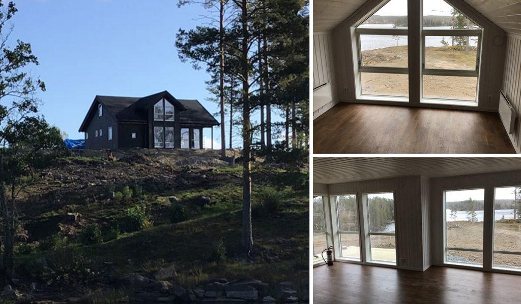Fritidshus från Saltdalshyttan 30 meter från Dalsland Kanal
